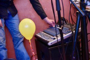 Live-Musik unten im Bistro des Ristorante Canal Grande